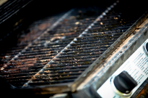 Clean or replace grill